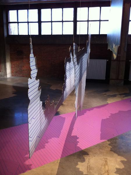 Graphisme exposition paysages d'Ici