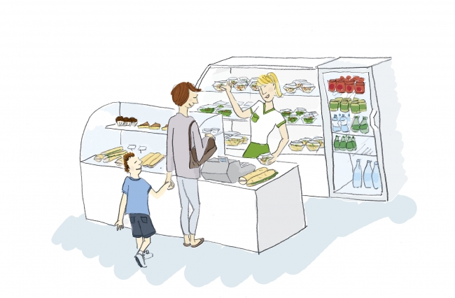 illustration salade fraicheur