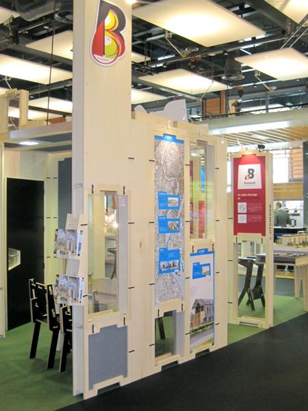Graphisme stand Brémond Lyon 2012