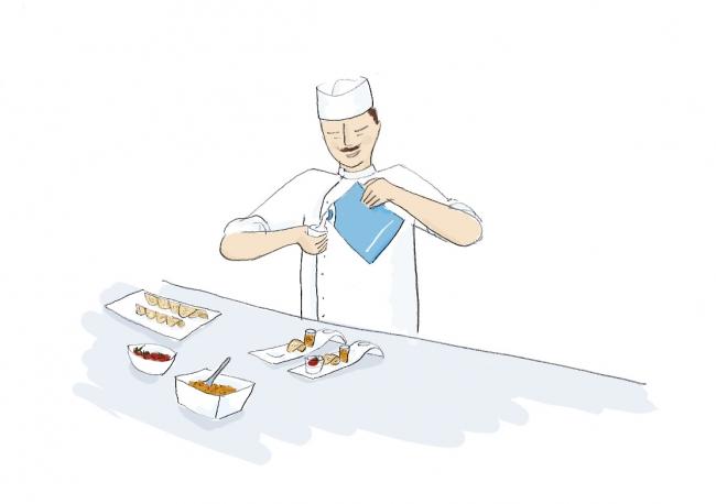 illustration yahourt format professionel