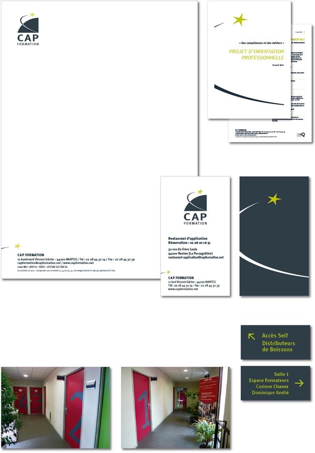 Charte graphique Cap formation