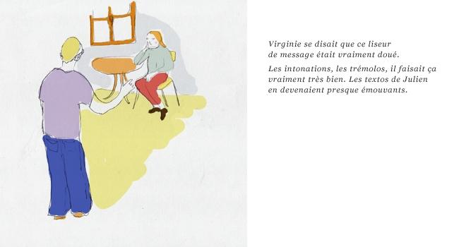 illustration lecteur sms