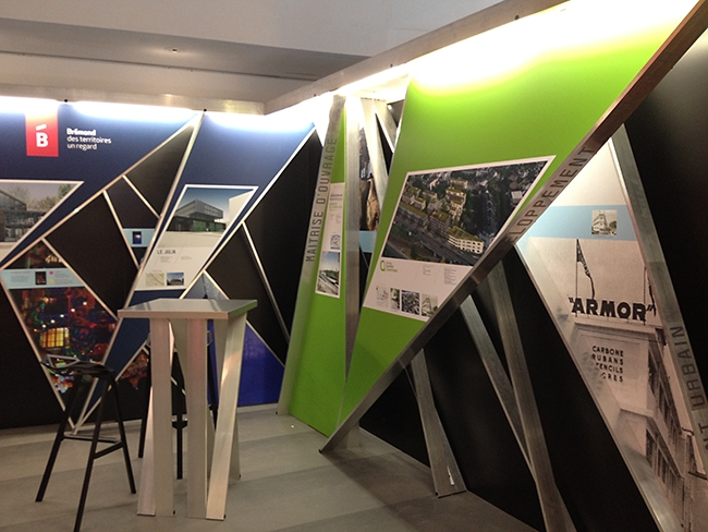 Graphisme stand SIMI 2013